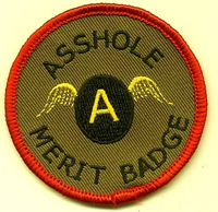 asshole-merit-badge